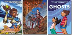 A Mighty Girl's top picks of 40 girl-empowering graphic novels for children.