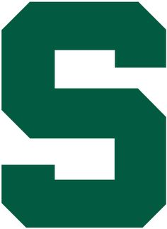 Michigan State Spartans Secondary Logo (1983) -