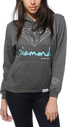 Zumiez Diamond Supply Co. OG Script Hoodie Found on my new favorite app Dote Shopping #DoteApp #Shopping