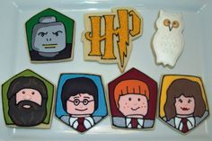 Harry Potter cookies by Jillfcs