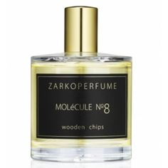 """Molécule No. 8 : Wooden Chips by Zarko Perfume To capture the essence of human innocence and beauty in a fragrance, whatever it took to get there. There was no roadmap. There were no rules. It was uncharted territory. MOLéCULE No8 contains ingredients, but what it's really made from is the transformative power of a 5 o'clock sunrise and hearing a child say """"I love you."""" TOPNOTES :Mandarin Oil - molecules HEART NOTES :Turkish Rose - molecules BASENOTES :Patchouli Oil – Black Agerwood –…"""