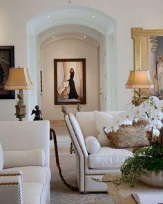 Elegant small drawing room