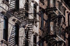 Fire escapes-New York City