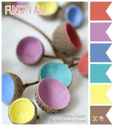 Inspire Sweetness!: Funky Fall - Color Palette