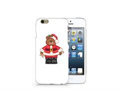 H36 Bear santa phone case for iP4/5/5C/6/6plus from Emerishop by DaWanda.com