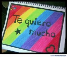♥ Te quiero mucho