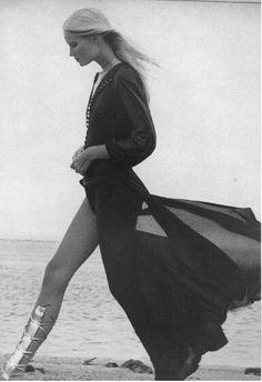Gunilla Lindblad Vogue 1971 #Editorial