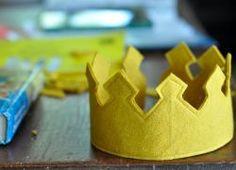 корона из фетра