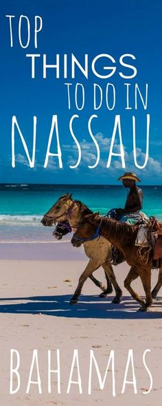 Here is the ultimate list of things to do in Nassau, Bahamas, an incredible island country in the Caribbean. The Bahamas Islands are one of the most famous places for that perfect holiday, and as it's…MoreMore Bahamas Honeymoon, Bahamas Vacation, Bahamas Cruise, Caribbean Cruise, Vacation Trips, Royal Caribbean, Dream Vacations, Caribbean Vacations, Vacation Places