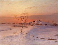 Николай Дубовской Зимний вечер 1895