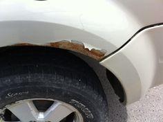 Driver side rear wheel well #rustyfordescapes #rustyford