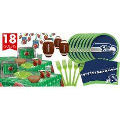 Seattle Seahawks Deluxe Party Kit