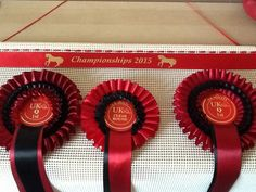 Our Rosette Holder now available gift wrapped
