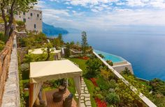 Monastero Santa Rosa – Amalfi Coast Italy: on wishlist for 25 anniversary itinerary.