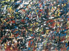 Jean Paul Riopelle, Number six, 1954, huile sur toile, 96,5 x 129,5 cm