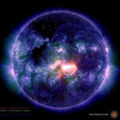最大クラスの太陽フレアが発生 写真1枚 国際ニュース:AFPBB News                                                                                                                                                                                 もっと見る