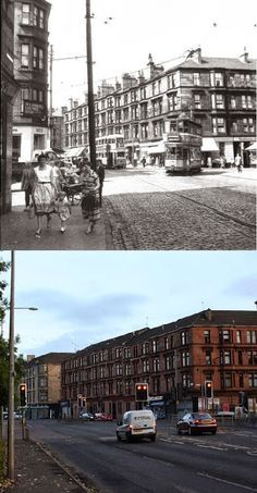 Glasgow Punter: Maryhill is Wonderful (Walking Through Maryhill With Some Old Photos as a Guide) Old Pictures, Old Photos, Bin Shed, George Cross, Glasgow City, Best Pubs, Great Western, Glasgow Scotland, Saint George