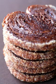 Chocolate Palmiers - recipe here: http://www.cannellevanille.com/mousse/chocolate-mille-feuille/