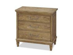 Universal Furniture Moderne Muse 32''L x 18''W Rectangular Bisque Nightstand
