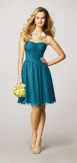 Alfred Angelo Style 7143 Bridesmaid Dress in Tealness
