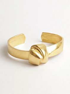 Big Knot Bangle Gold #machapintowin