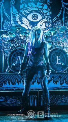 Heavy Metal Girl, Heavy Metal Music, Ladies Of Metal, Alissa White, Metal Arch, Women Of Rock, Extreme Metal, Arch Enemy, Horror Show