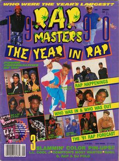 Rap Masters, January 1991 | Community Post: 12 Magazine Covers That Perfectly Sum-Up Hip-Hop's Golden Era