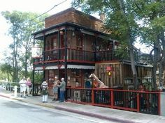 """Jerome, Arizona. House of Joy. This is an actual turn of the century """"house of ill repute."""""""