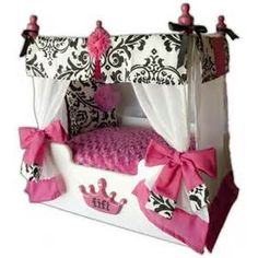Canopy Dog Bed