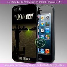 The Great Gatsby Green Lights iPhone 4/4S/5, Samsung S4/S3/S2 cover cases | sedoyoseneng - Accessories on ArtFire