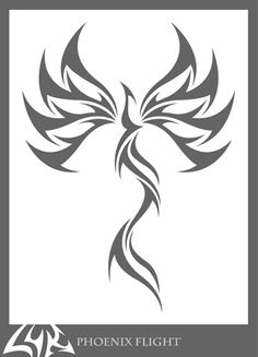 just an illustrator experiment. wanted to try a phoenix that was different from the feel i had with the others. wanted to try a more flowy, less edgy feel. Phoenix Tribal, Phoenix Bird, Dark Phoenix, 4 Tattoo, Body Art Tattoos, Tribal Tattoos, Tatoos, Caduceus Tattoo, Phoenix Design