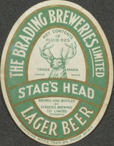 Stag's Head Lager Beer | Flickr - Photo Sharing!