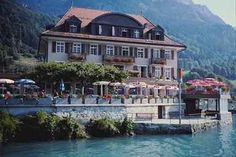 Brienz, Switzerland - hotel on Brienzersee