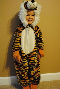 Kid's Halloween Costume Striped Tiger Suit Size 2-3 Excellent Condition!!! in Clothing, Shoes & Accessories, Costumes, Reenactment, Theater, Costumes | eBay