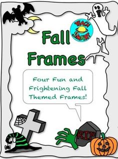 Spooky and fun frames