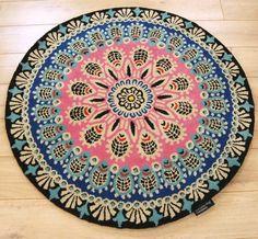 i retro nomadic circular rug 01 265 liked on polyvore