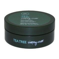 Paul Mitchell Tea Tree Shaping Cream Plaukų vaškas su žėručiu 100ml