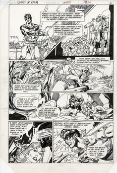 Sword of the Atom #3, page 2 Comic Art