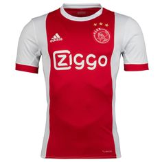 Ajax Home Soccer Jersey 17/18 This is the Ajax Home Football Shirt 17/18. Stand proudly showing your support for de Godenzonen in this adidas Ajax 17/18 Home Replica Short Sleeve Football Shirt in White and Bold Red. This replica football shirt of the Netherlands Eredivisie side, Ajax comes in the traditional colouirs of white and bold […]
