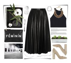 """""""Ep.798"""" by yen-and-len ❤ liked on Polyvore featuring moda, Post-It, Clare V., By Malene Birger, Gianvito Rossi, A.L.C., Etro e KRISVANASSCHE"""