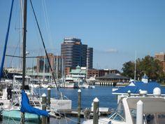 Hampton, Va., waterfront. I want a yacht.
