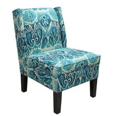I pinned this Ikat Wingback Chair from the Destination: Porto-Vecchio event at Joss and Main!