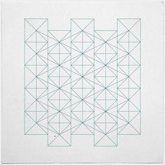 #374 Constructivist's wallpaper– A new minimal geometric composition each day