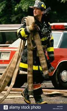 Download this stock image: WILLIAM BALDWIN BACKDRAFT (1991) - BPDXPB from Alamy's library of millions of high resolution stock photos, illustrations and vectors.