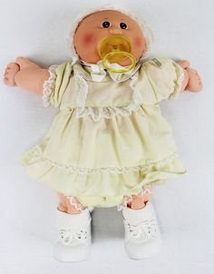 Pretty sure this is Lizzy Monica.==========Vintage 1982 Cabbage Patch Kids Babby Premie with Pacifier Diaper MINT | eBay
