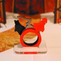 Red Riding Hood 3 Ring Set