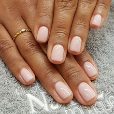 Unicorn nails for short nails are a perfect selection if you prefer unicorns? We have found 24 best unicorn nails for short nails to draw for spring. Classy Nails, Stylish Nails, Simple Nails, Trendy Nails, Cute Nails, My Nails, S And S Nails, Blush Pink Nails, Short Pink Nails