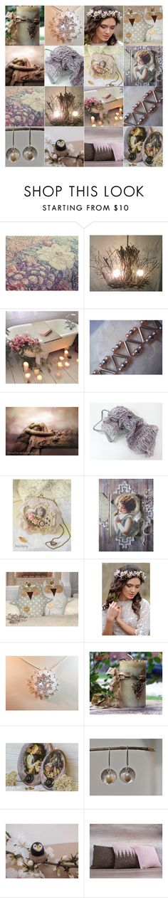 """""""Chic Romance"""" by andreadawn1 ❤ liked on Polyvore featuring etsy, handmade and giftideas"""