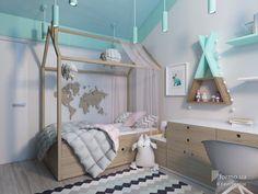 Сучасний інтер'єр квартири для молодої сім'ї, Estet Interior, Детская комната, Дизайн интерьеров Formo.ua