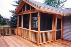 This really is effective what these folks did with this specific construction and plan. What an incredible idea for a Screened In Porch Diy, Screened Porch Designs, Screened In Deck, Backyard Patio Designs, Front Porch, Illinois, Back Porch Designs, Gazebo On Deck, Porch Addition
